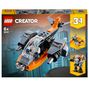 LEGO Creator: 3 in 1 Cyber Drone Building Set (31111)