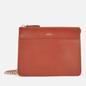 A.P.C. Women's Ella Mini Chain Bag - Hazelnut