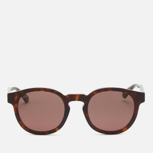 Gucci Men's Acetate Frame Sunglasses - Shiny Dark Havana