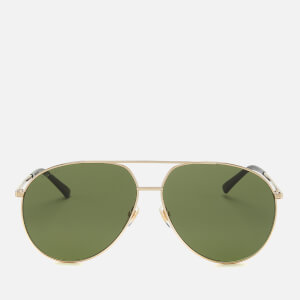 Gucci Men's Metal Frame Sunglasses - Shiny Endura Gold