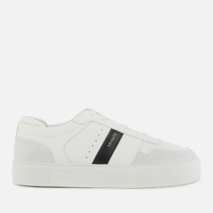 Axel Arigato Men's Detailed Leather/Mesh Platform Trainers - White/Black