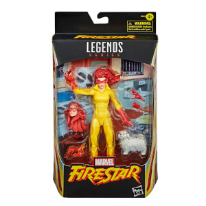 Figura de Acción Estrella de Fuego - Hasbro Marvel Legends Series