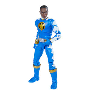 Hasbro Power Rangers Lightning Collection Dino Thunder Blue Ranger Figure