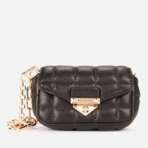 Michael Michael Kors Women's Soho Xs Clip Bag Charm - Black