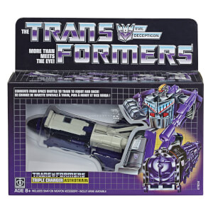 Hasbro Transformers Toys Vintage G1 Astrotrain Action Figure