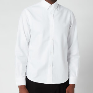 Kenzo Men's Tiger Crest Oxford Shirt - White