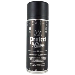 Peaty's Protect & Shine Silicone Spray (400ml Aerosol)