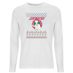 Hot Chocolate Unisex Long Sleeve T-Shirt - White