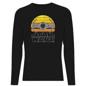 Star Wars Classic Sunset Tie Unisex Long Sleeve T-Shirt - Black