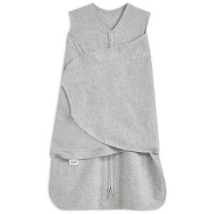 HALO SleepSack Swaddle 1.5 TOG 100% Cotton - Heather Grey