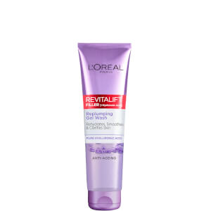 L'Oréal Paris Revitalift Filler [+ Hyaluronic Acid] Gel Face Wash Cleanser 150ml