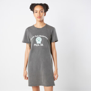 South Park Cows Phys Ed Robe T-Shirt Femme - Noir Délavé