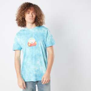 South Park Screw You Hippie Unisex T-Shirt - Turquoise Tie Dye