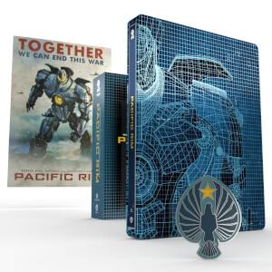 Steelbook Pacific Rim - 4K Ultra HD (Include Blu-Ray 2D) - Edizione Limitata Titans of Cult
