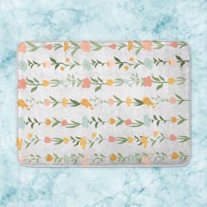 Flower Chain Bath Mat