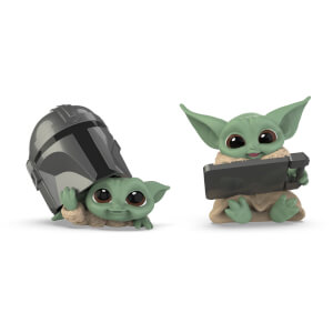 Collection Star Wars The Bounty - L'enfant - Lot de 2 : Coup d'œil sur le casque & Tablette Datapad