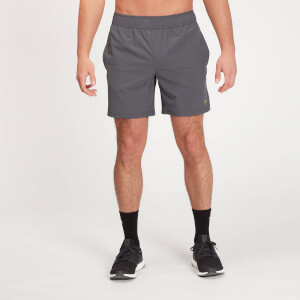 MP Men's Graphic Running Shorts - Carbon