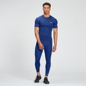 MP Men's Essentials Training 3/4 Baselayer Leggings - Intense Blue