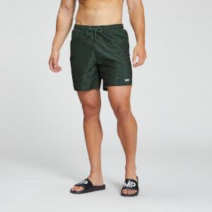 MP Мъжки шорти с щампа за плуване Pacific - зелено