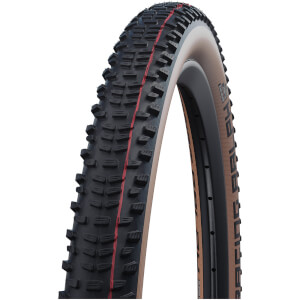 Schwalbe Racing Ralph Evo Super Race Tubeless MTB Tyre - Transparent Skin