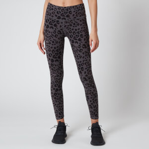 Varley Women's Century 25 Inch 2.0 Leggings - Iron Grey Cheetah