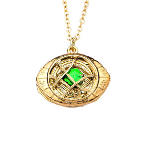 Marvel Doctor Strange Eye of Agamotto Pendant Necklace