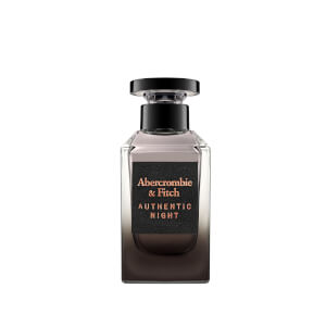 Abercrombie & Fitch Men's Authentic Night Eau de Toilette 100ml