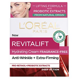 L'Oréal Paris Revitalift Fragrance Free Lifting Day Cream with Natural Probiotic Extracts 50ml