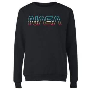 NASA Spectrum Women's Sweatshirt - Black