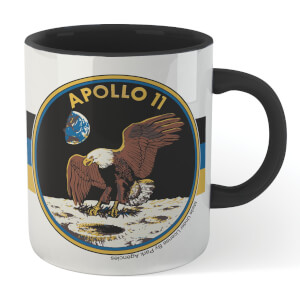 NASA Eagle Has Landed Mug - White/Black