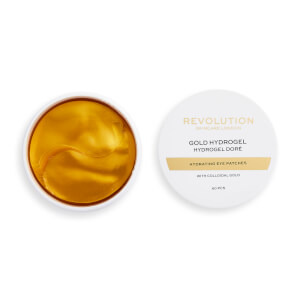 Revolution Skincare Gold Eye Hydrogel Hydrating Eye Patches with Colloidal Gold 20g