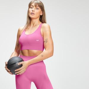 Brassière de sport sans coutures MP Tempo pour femmes–Rose