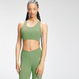 Brassière de sport à dos croisé Repreve® MP Tempo  pour femmes–Vert pomme