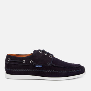 PS Paul Smith Men's Hobbs Suede Boat Shoes - Navy