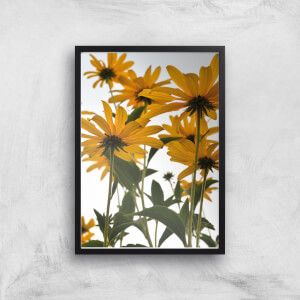 60s Flowers Giclee Art Print