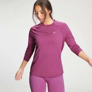 MP Women's Essentials Training Long Sleeve Top - Orchid