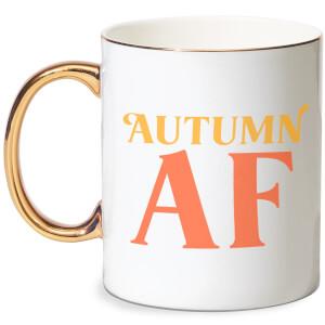 Autumn AF Bone China Gold Handle Mug