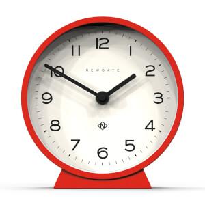 Newgate M Mantel Echo Clock - Red