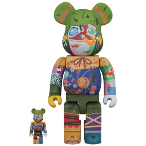 Medicom Poupelle of Chimney Town Poupelle 100% & 400% Be@rbrick 2 Pack