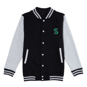 Riverdale South Side Serpent Women's Varsity Jacket - Black / Grey