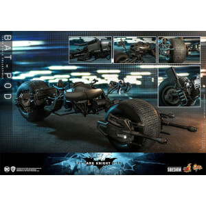 Hot Toys Batman The Dark Knight Rises Movie Masterpiece Action Figure 1/6 Bat-Pod 59 cm