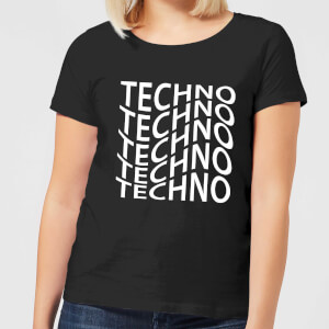 Techno Women's T-Shirt - Black