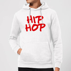 Hip Hop Hoodie - White