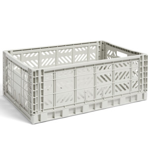 HAY Colour Crate Light Grey - L
