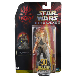 Figurine Articulée Jar Jar Binks - Hasbro Star Wars The Black Series