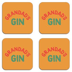 Grandad's Gin Coaster Set