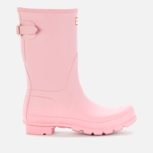 Hunter Women's Original Short Back Adjustable Wellies - Foxglove