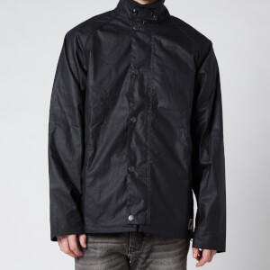 Barbour Men's Gelbin Wax Jacket - Navy