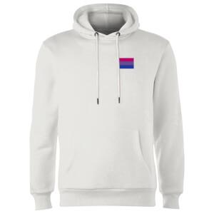 Bisexual Flag Hoodie - White