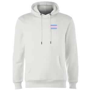 Transgender Flag Hoodie - White